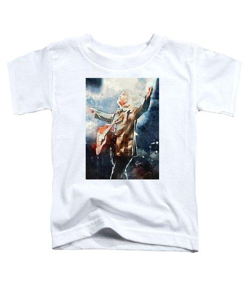 Tom Petty - Watercolor Portrait 13 Toddler T-Shirt