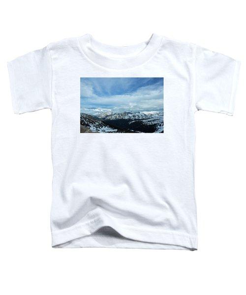 Top Of The Rockies Toddler T-Shirt