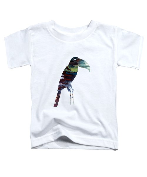 Toucan Toddler T-Shirt by Mordax Furittus