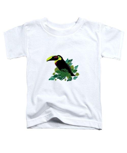 Toucan Toddler T-Shirt by Vanessa GFG