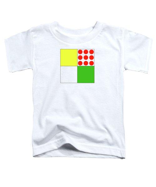 Tour De France Jerseys 1 White Toddler T-Shirt