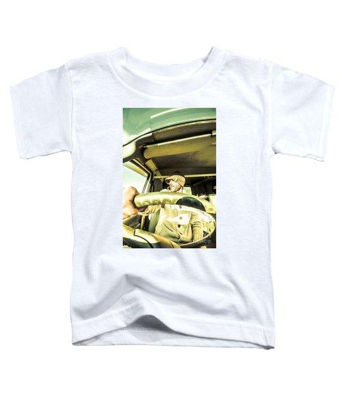 Tourist Sightseeing In Van Toddler T-Shirt
