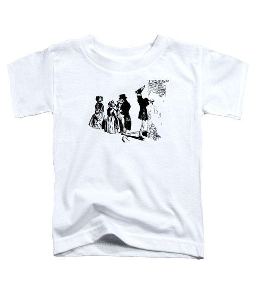 Town Square Grandville Transparent Background Toddler T-Shirt