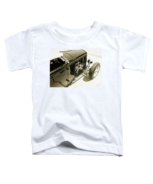 Traditional Roadster Bw Toddler T-Shirt