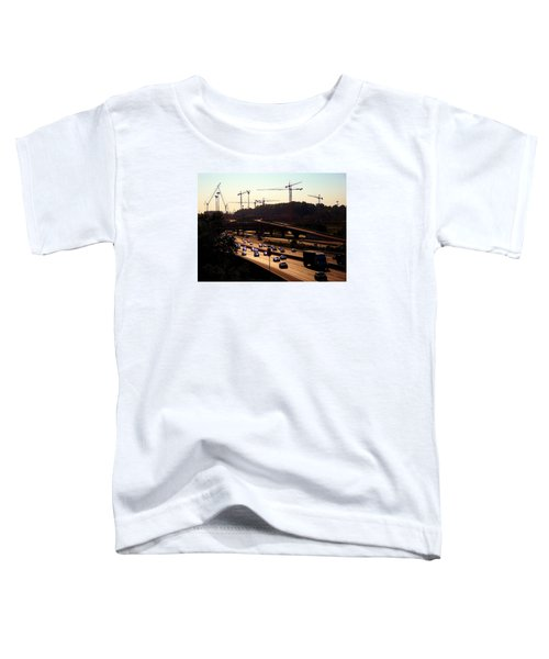 Traffic And Cranes Toddler T-Shirt