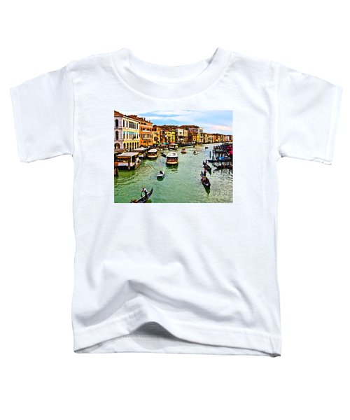 Traghetto, Vaporetto, Gondola  Toddler T-Shirt