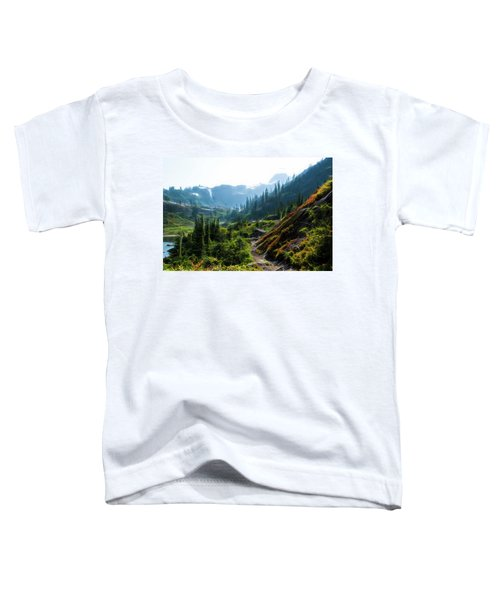 Trail In Mountains Toddler T-Shirt