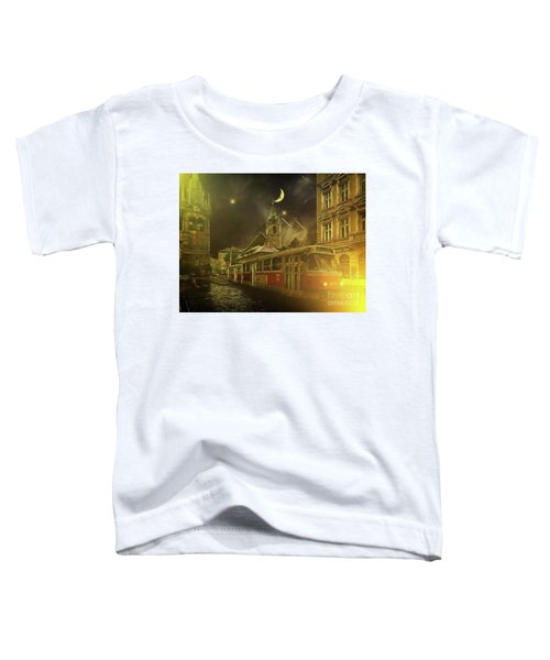 Tramatic - Prague Street Scene Toddler T-Shirt