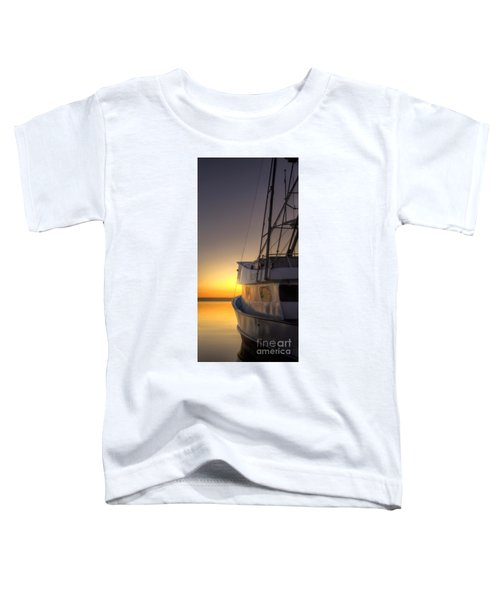 Tranquility On The Bay Toddler T-Shirt