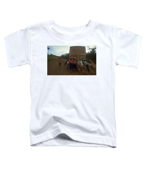 Toddler T-Shirt featuring the photograph Trans Amazonian Highway, Brazil by Travel Pics