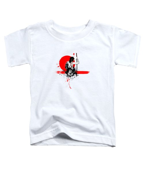 Trash Polka - Female Samurai Toddler T-Shirt