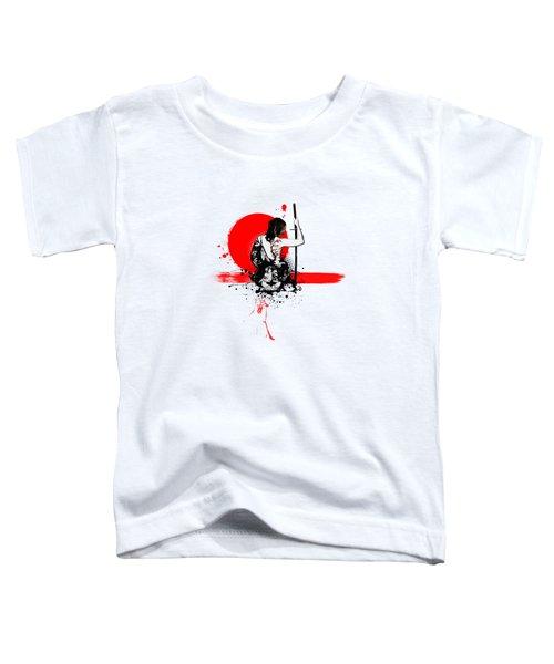 Trash Polka - Female Samurai Toddler T-Shirt