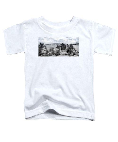 Traversing The Chesapeake Toddler T-Shirt