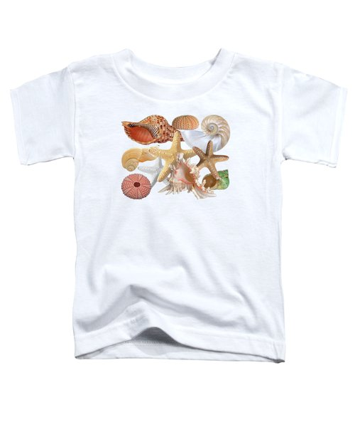 Treasures Of The Deep On White Toddler T-Shirt