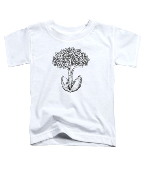 Tree From Seed Toddler T-Shirt