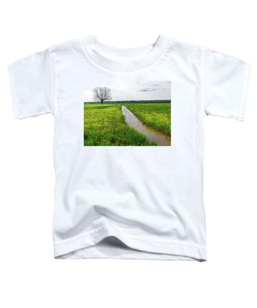 Tree In Field 2 Toddler T-Shirt