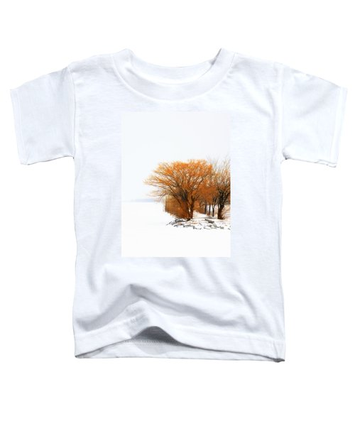 Tree In The Winter Toddler T-Shirt
