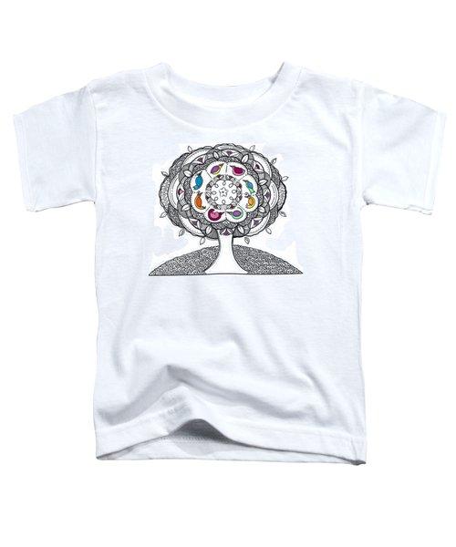 Tree Of Life - Ink Drawing Toddler T-Shirt