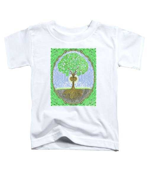 Tree With Heart And Sun Toddler T-Shirt
