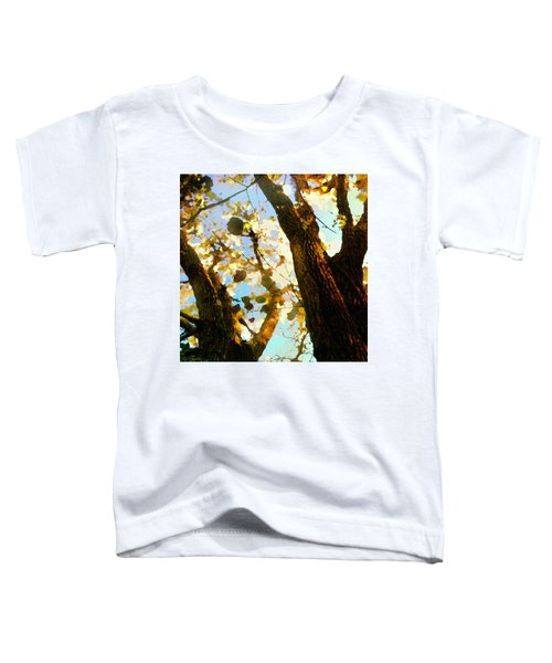 Treetop Abstract-look Up A Tree Toddler T-Shirt