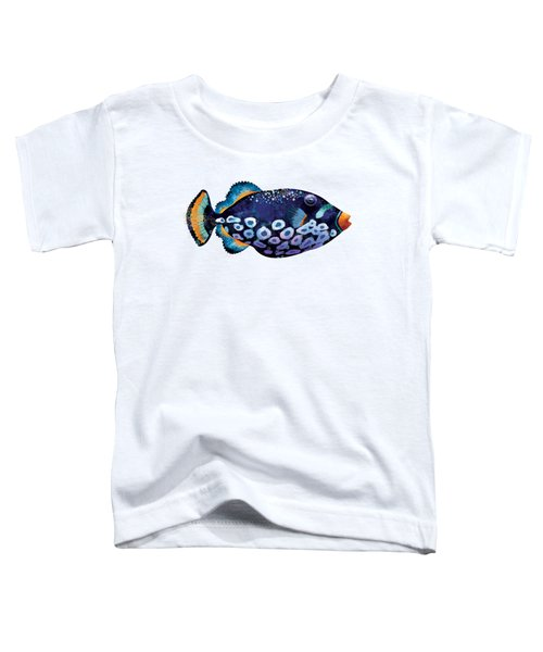 Trigger Fish Toddler T-Shirt