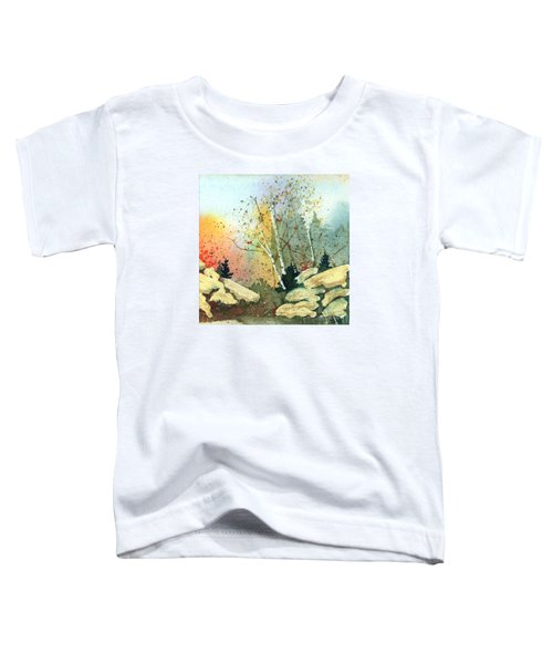 Triptych Panel 3 Toddler T-Shirt