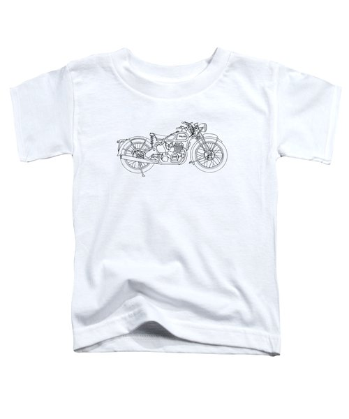 Triumph Laverda Toddler T-Shirt by Stephen Brooks