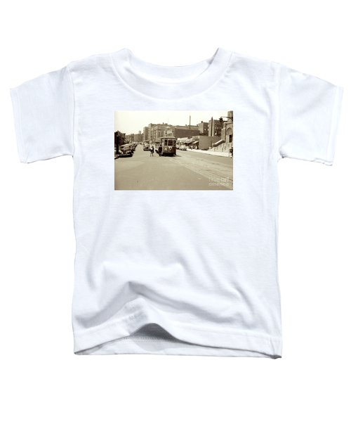 Trolley Time Toddler T-Shirt