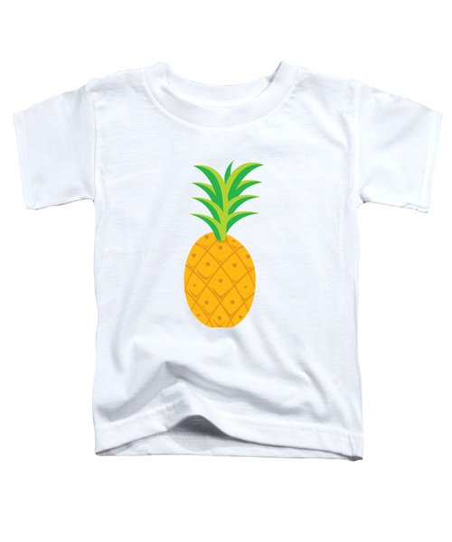 Tropical Fruits Ananas Pineapple Toddler T-Shirt