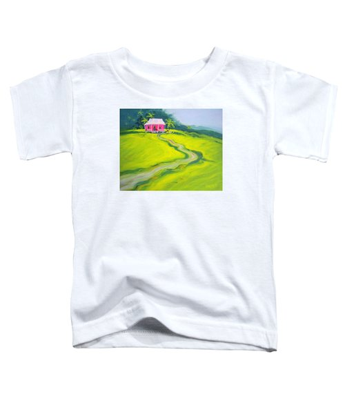 Tropical House - Pink Paradise Toddler T-Shirt