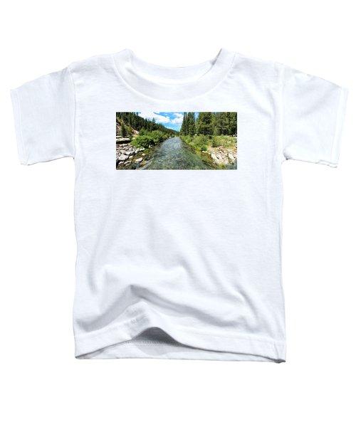 Truckee River Toward Tahoe City Toddler T-Shirt