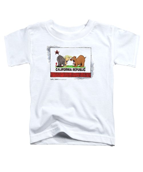 Trump And California Face Off Toddler T-Shirt