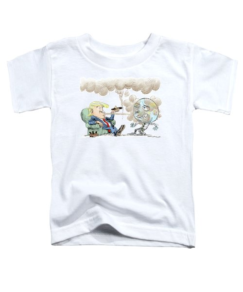 Trump And The World On Climate Toddler T-Shirt
