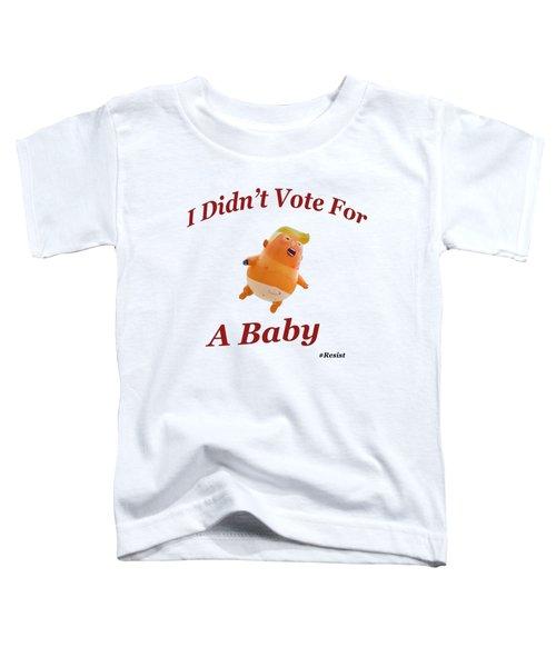 Trump Baby Blimp Toddler T-Shirt