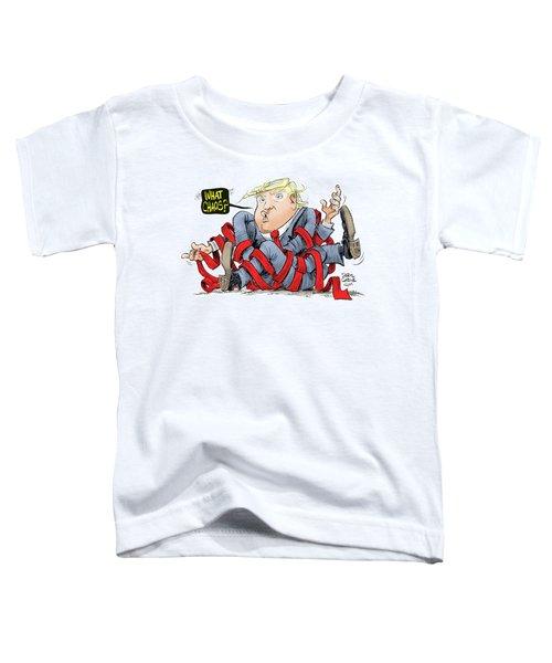 Trump Chaos Toddler T-Shirt