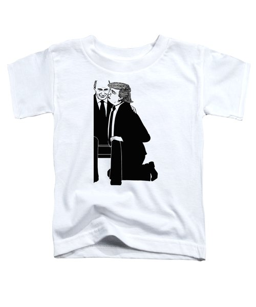 Trump On Knees Toddler T-Shirt