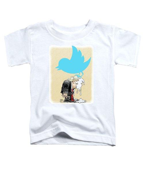 Trump Twitter Poop Toddler T-Shirt