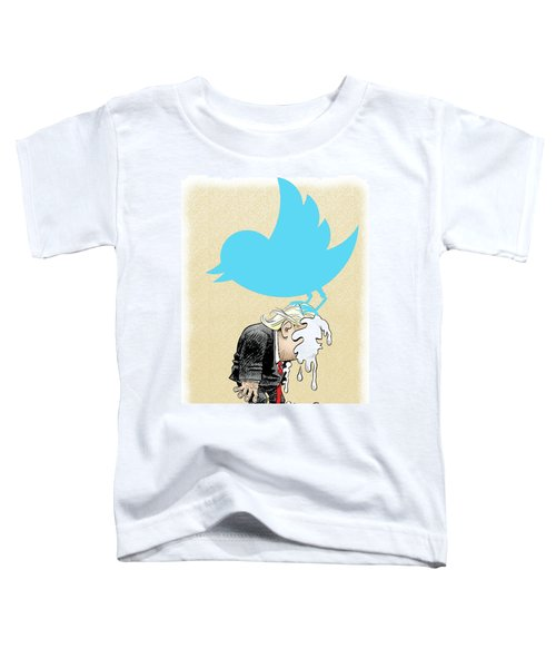 Trump Twitter Poop Toddler T-Shirt
