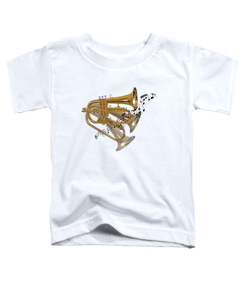 Trumpet Fanfare Toddler T-Shirt