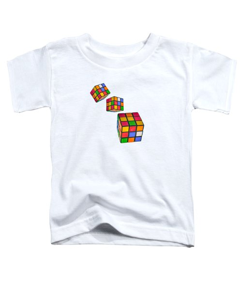 Tumbling Cubes Toddler T-Shirt