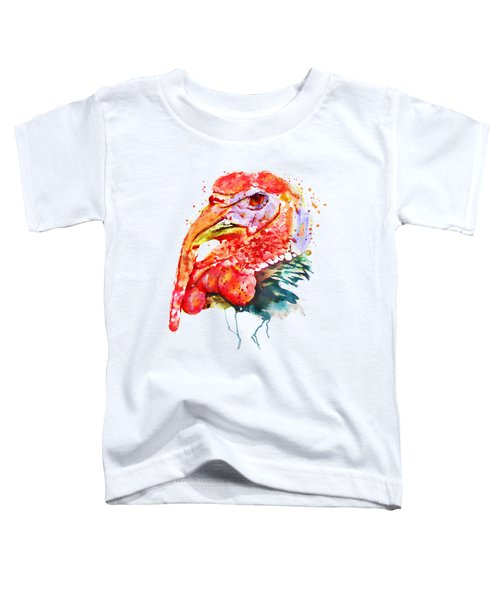 Turkey Head Toddler T-Shirt