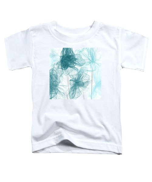 Turquoise In Sync Toddler T-Shirt