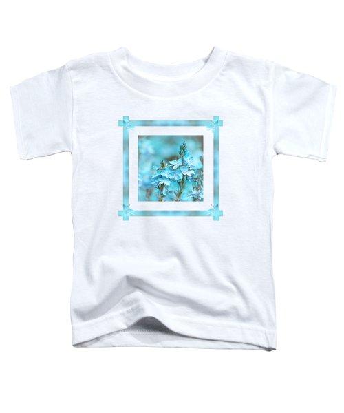 Turquoise Ribbons Toddler T-Shirt