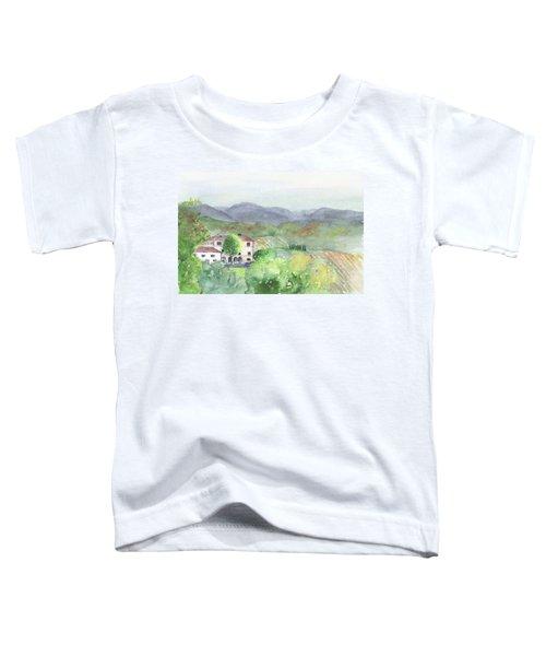 Tuscan Vineyards Toddler T-Shirt