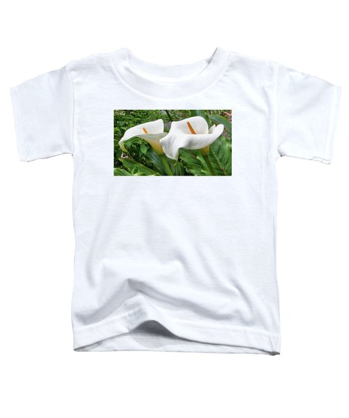 Twin Calla Lilies Toddler T-Shirt