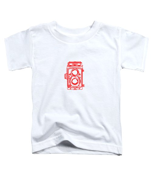 Twin Lens Camera Toddler T-Shirt