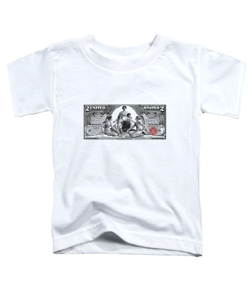 Two Dollar Note - 1896 Educational Series  Toddler T-Shirt