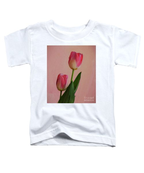 Two Tulips For You Toddler T-Shirt