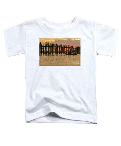 U-bein Bridge Toddler T-Shirt by Werner Padarin