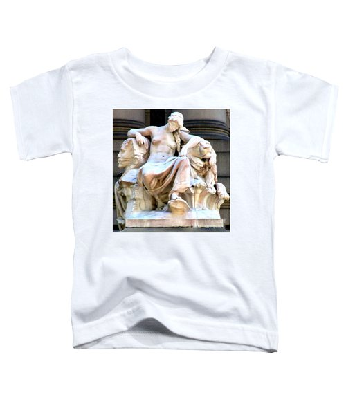 U S Custom House 3 Toddler T-Shirt by Randall Weidner